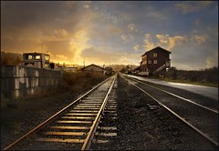 after the storm (jody9) Tags: sunset oregon vanishingpoint bravo tracks stormy astoria railroadtracks 4pm magicdonkey utata:project=tw90