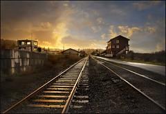 after the storm (jody9) Tags: sunset oregon vanishingpoint bravo tracks stormy astoria railroadtracks 4pm magicdonkey utata:project=tw90