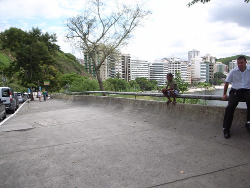 skateboarding spot