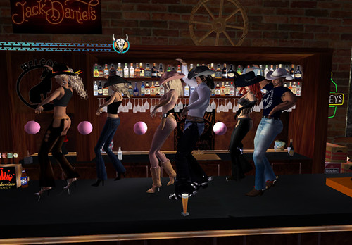More Bar Dancing