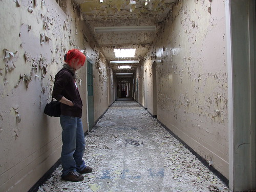 St. Mary's Hospital - Waiting in the corridor