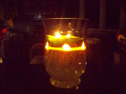 Candlelight Reflection