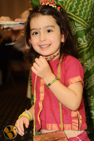 Girl at the Mehndi