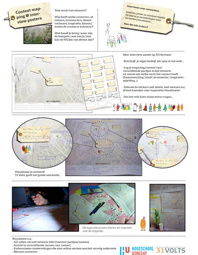 Storyboard interviewposters