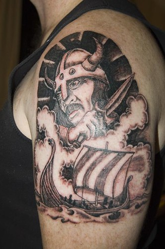 Viking Tattoo I designed this viking