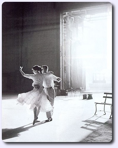 Fred Astaire y Audrey Hepburn