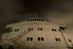 Ex'd Forecastle (Lost America) Tags: abandoned night timeexposure urbanexploration steamship liner oceanliner urbex ssindependence