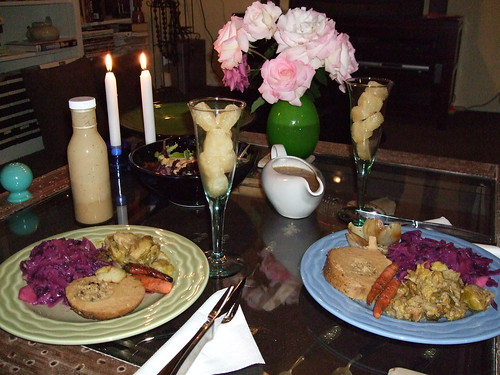 Vegan Valentines Dinner 2008