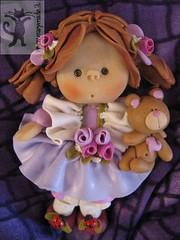 Bambolina Rita (marytempesta) Tags: fimo cernit bambola orsetto artigianato fattoamano pastasintetica