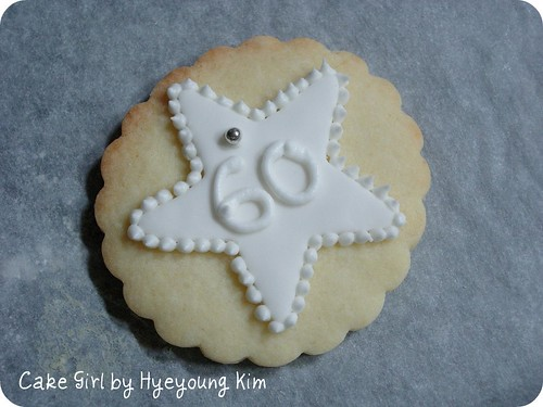60th Birthday Cookie