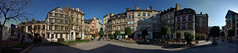 Place de la pucelle d'Orleans, Rouen, France (Ekeynox) Tags: panorama france place rouen perfectpanoramas