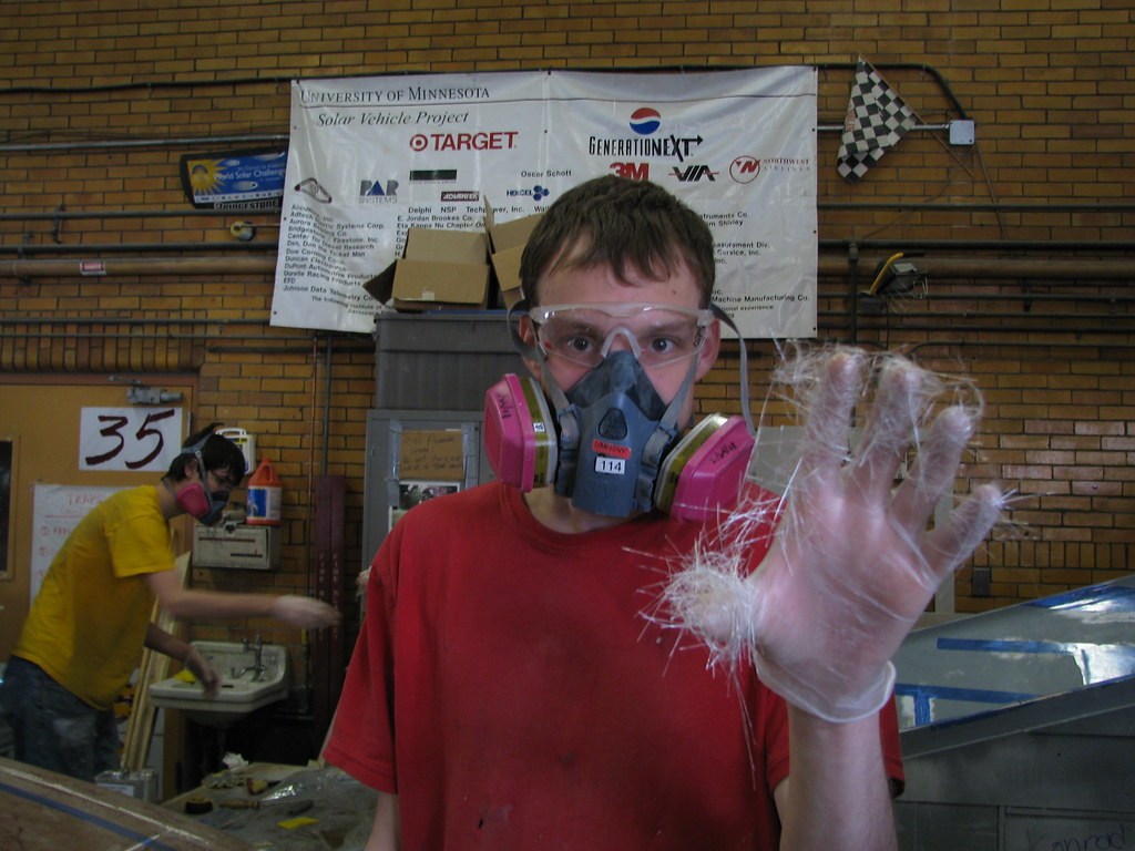 Fiberglass Hands
