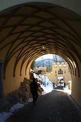 Tunnel to Schloss Hohenschwangau Photo