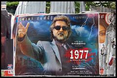 Walls of Chennai (Arvind Ram) Tags: poster movieposter filmposter chennai kollywood kodambakkam sarathkumar vijaymallaya