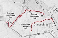 Preston Snowqualmie Trail 路線