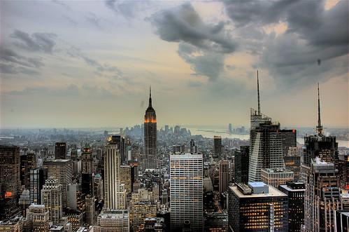 New York City Dusk