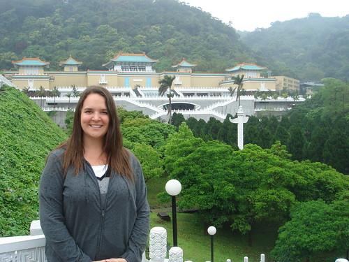 Amanda at the GuGong