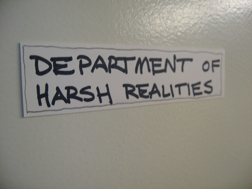 Department of Harsh Realities
