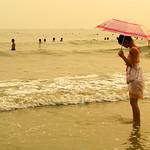 Chinese Beach Fashion - Umbrella