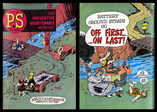 Preventive Maintenance Monthly Issue 124, 1963 (Will Eisner)