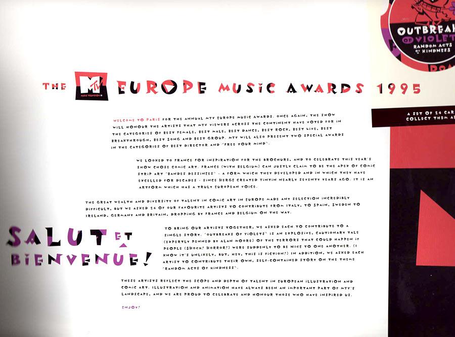 MTV Europe Music Awards 1995