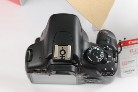 Canon XSi / 450D -- top view