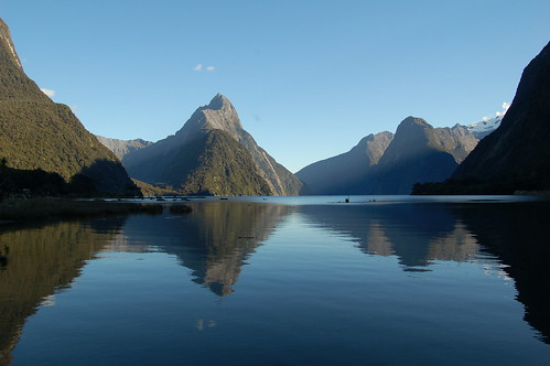 Milford Sound New Zealand. Milford Sound, Fjord New
