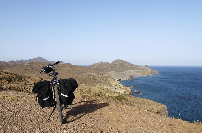 Cicloturismo en Cabo de Gata