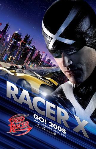 Poster Speed Racer Wachowski Matthew Fox