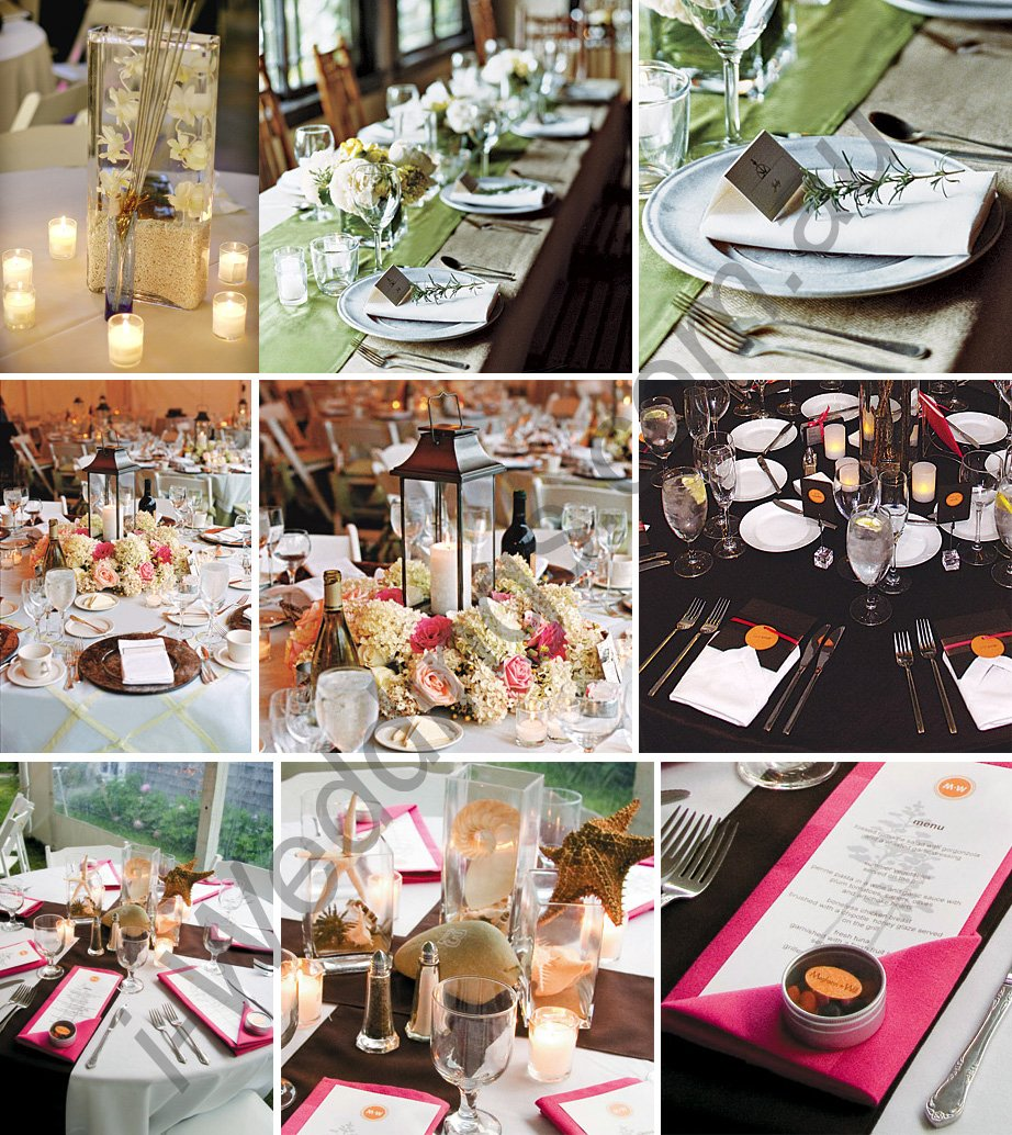Wedding Preparation Wedding Reception Table Decoration Ideas