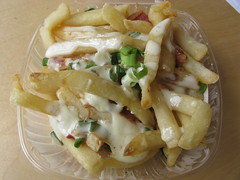 """Loaded"" fries @ Max's"