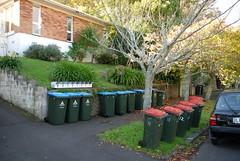 Invasion der Mülltonnen