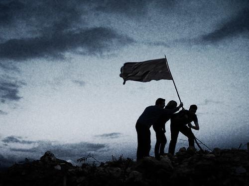 Rising Flag