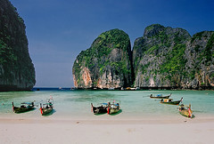 "The beach from ""The Beach"" (hapulcu) Tags: thailand krabi"