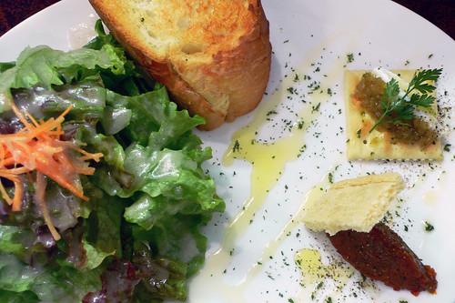 今日のお昼の前菜 - チルコロ
