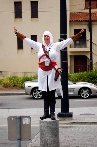 Outside Fanimecon 2008: Altaïr ibn La-Ahad