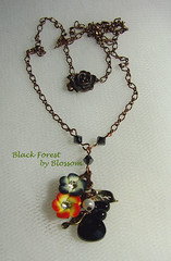 black forest -necklace