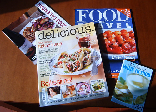 Win a subscription to Food & Travel Magazine or Delicious Magazine