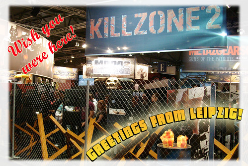 leipzig postcard Killzone