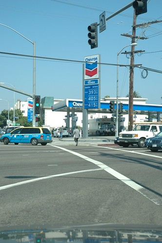 Gas prices in Venice Beach