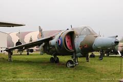 Hawker Siddeley Harrier GR.3 (srkirad) Tags: outdoor airplane aircraft jet military harrier gr3 hawker siddeley british raf musem aviation krakow poland travel winter cloudy