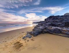 Panorámica Calblanque (J. Cuenca) Tags: calblanque atardecer sunset roca