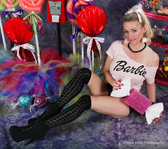 Candy Land - Eye Candy (Mark Birkle) Tags: candyland candy land eye female model cute beautiful image photo picture sexy hot fun attractive woman alluring blonde