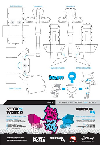 STICK MY VS PAPER TOY CONTEST by GIANZO page 2/3