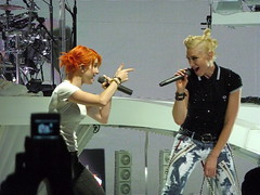 Hayley Stands and Delivers with Gwen during encore.