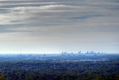 (ash) Tags: atlanta sky mountain clouds downtown cityscape cobb sillouette hdr kennesaw clurbex