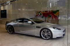 ASTON MARTIN DBS IN THE WINDOW (livinginchina4now) Tags: china new car shanghai martin display style showroom spotted luxury supercar aston spotting lu stylish vantage dbs db9 najing rapide