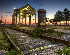 Toulouse Train Stop at Dawn (edwademd) Tags: sunrise landscape neworleans traintracks artistoftheyearlevel3 artistoftheyearlevel4 flickrstruereflection1 flickrstruereflection2 flickrstruereflection3 flickrstruereflection4 flickrstruereflection5 flickrstruereflection6 flickrstruereflection7 artistoftheyearlevel5 flickrstruereflectionexcellence trueexcellence1 artistoftheyearlevel7 artistoftheyearlevel6