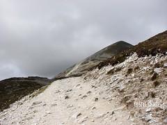 way up (miradel) Tags: ireland mountain beautiful up st way earth stones patrick hills route thoughts patricks moment stpatrick mira crough