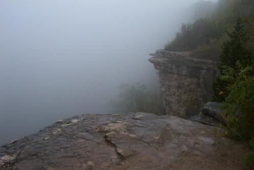 Foggy Dundas Peak